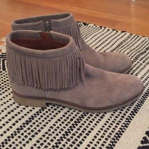 Suede fringe LuckyBrand boots